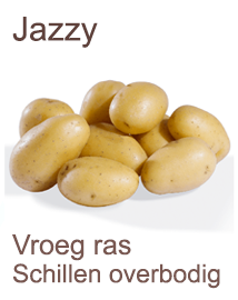 Pootaardappelen Jazzy 1kg