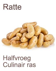 Pootaardappelen Ratte 1kg
