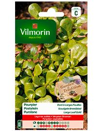 Vilmorin Postelein zaden Goudgele Breedblad 3g