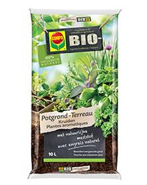 Compo Bio Potgrond voor kruiden 10L