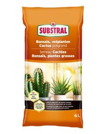 Potgrond voor Cactus vetplanten en bonsai 6L