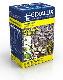 Pychlorex Garden strooikorrel tegen bodeminsecten 500g