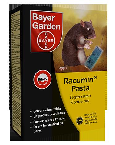 Racumin Pasta tegen ratten en muizen 500g