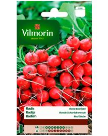 Vilmorin Radijs zaden in grootverpakking Ronde Scharlakenrode 30g
