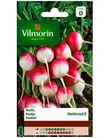 Vilmorin Radijs zaden in grootverpakking National 2 30g