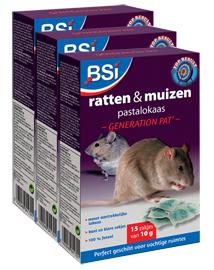 Rattengif en muizengif pasta 450g