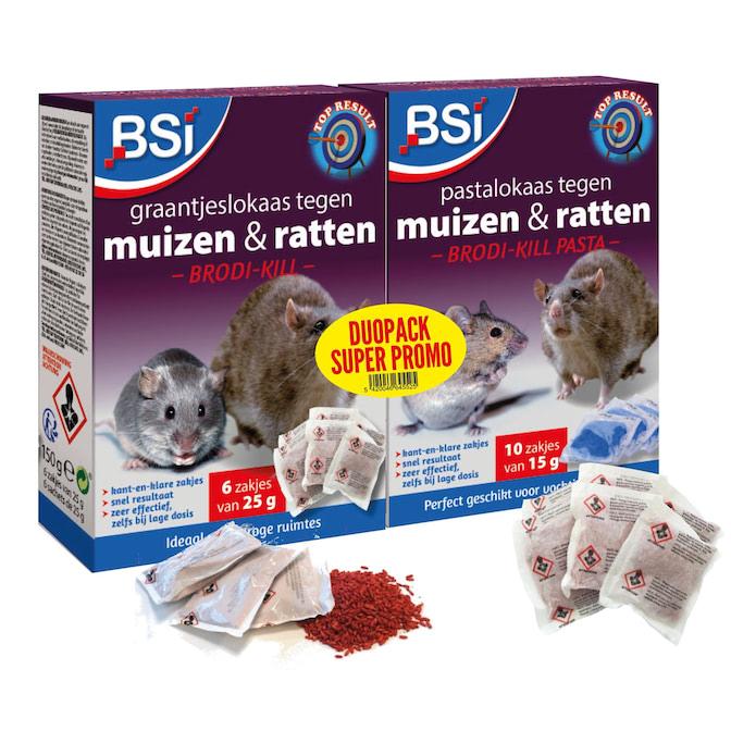 Rattengif en muizengif DUO PROMO pack
