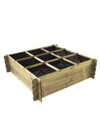 Vierkante moestuinbak Etienne