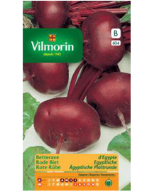 Vilmorin Rode Biet zaden Egyptische 6g