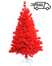 Rode kunstkerstboom Red Santa 180cm