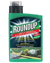 Roundup Plus Pad & Terras Onkruidverdelger 1L