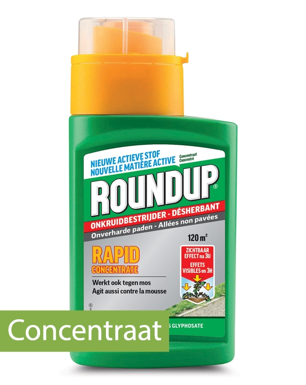 RoundUp Rapid Concentraat 120 m²