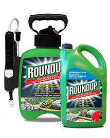 Roundup Totale onkruidverdelger voor opritten 2,5L + 2,5L