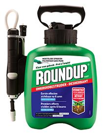 Roundup Fast 'Pump and Go' tegen onkruid 2,5L