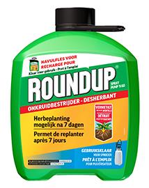 Roundup Onkruidverdelger navulling 5L