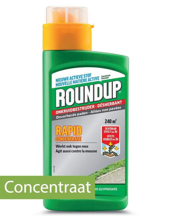 Onkruidverdelger Roundup Rapid concentraat 240m²