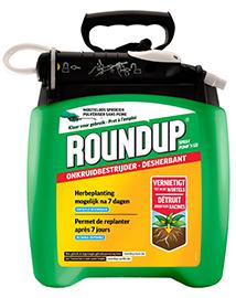 Roundup Onkruidverdelger met sproeier 5L