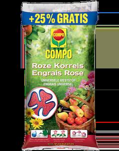 Compo Roze Korrels 8 kg + 25%