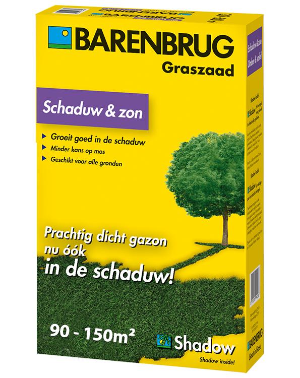 Graszaad Barenbrug Schaduw & Zon 90-150 m²