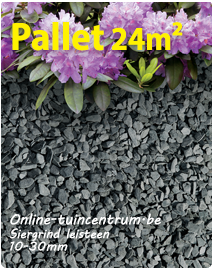 Leisteen grind 10/30 per pallet 24m²