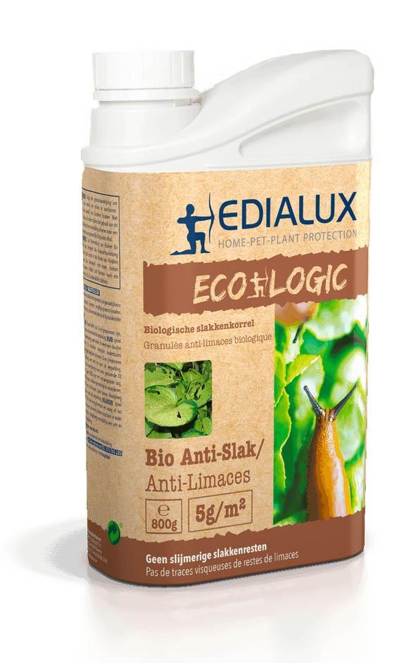 Slakken ecologisch bestrijden met BIO Anti Slak 800 g Edialux