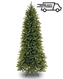 Lange smalle kunstkerstboom High Fraser 228cm