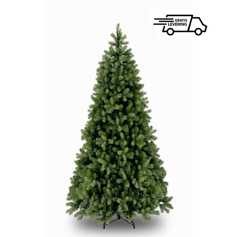 Smalle hoge kunstkerstboom Christmas Spruce 366cm