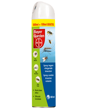 Bayer Spray Vliegende Insecten 500+100 ml