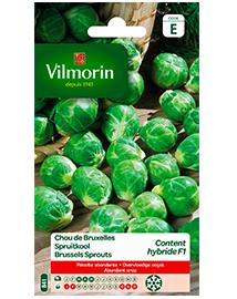 Vilmorin Spruitkool zaden Content HF1 0,8g