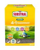 Substral 4 in 1 gazonmest met lange werking 50m²