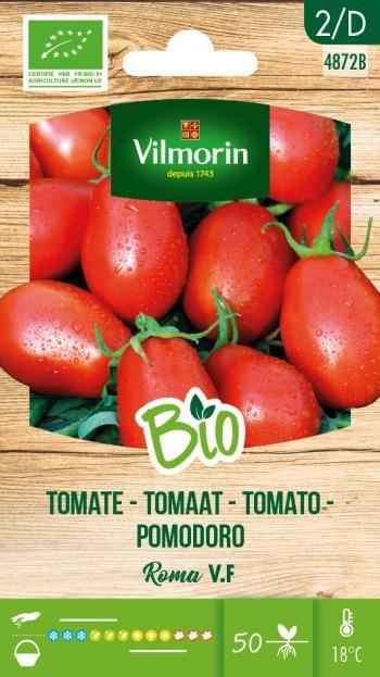 BIO Tomaten zaden Roma
