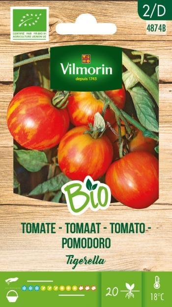 BIO Tomaten zaden Tigrella
