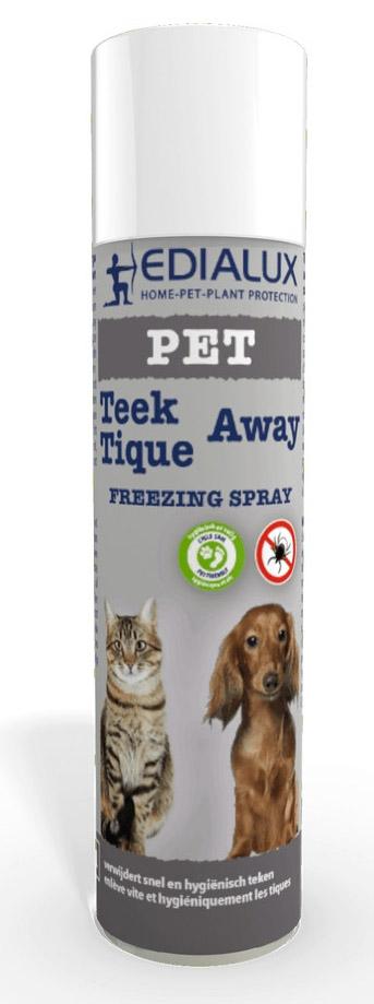 Teek op hond snel verwijderen met Teek-Away Edialux