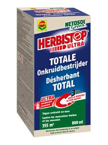 Herbicide concentraat voor bestrijden van onkruid en mos 800ml