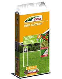 DCM Gazonmeststof Triogazon tegen onkruid en mos 250m²