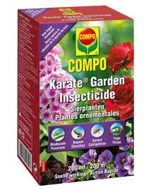 Insecten bestrijden in tuin met Karate Garden 200ml