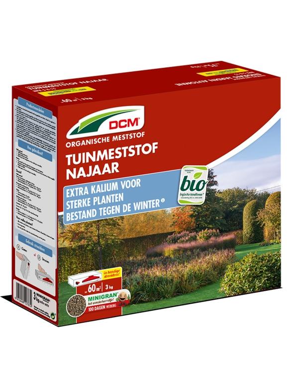 DCM Tuinmeststof najaar 3kg