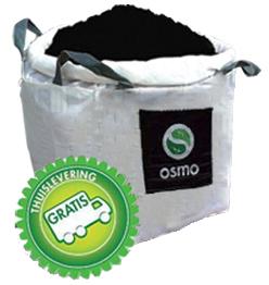 Tuinturf met kalk per big-bag van 1 m³