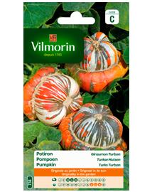 Vilmorin Pompoen zaden Turkse mutsen 2g