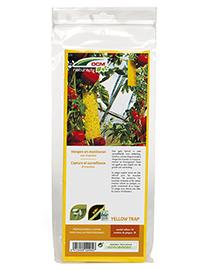 DCM Vangplaten Geel tegen witte vlieg, bladluis,... 10 stuks