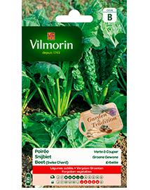 Vilmorin Snijbiet zaden Groene Gewone 5g