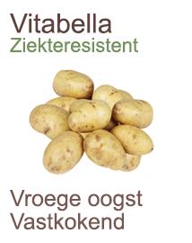 Pootaardappelen Vitabella biologisch telen 2,5kg