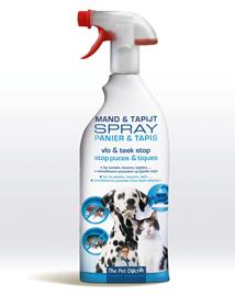 Vlooien en tekenspray voor honden en katten 800ml