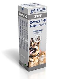 Pinto Zerox-P Vlooienpoeder voor katten en honden 100g