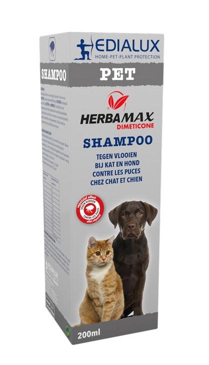 Vlooienshampoo hond zonder insecticiden 200 ml