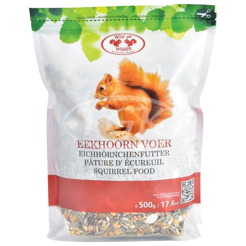 Voer voor eekhoorns 500 gr