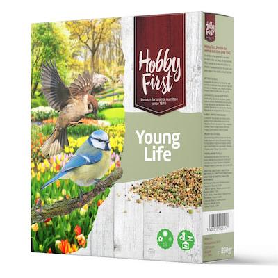 """Vogelzaad jonge vogels """"Young life"""" 850gr"""