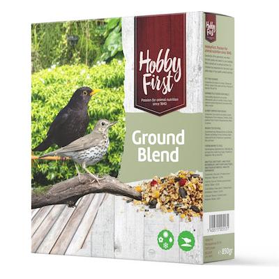 """Vogelvoer lijsters """"Ground Blend"""" 850gr"""