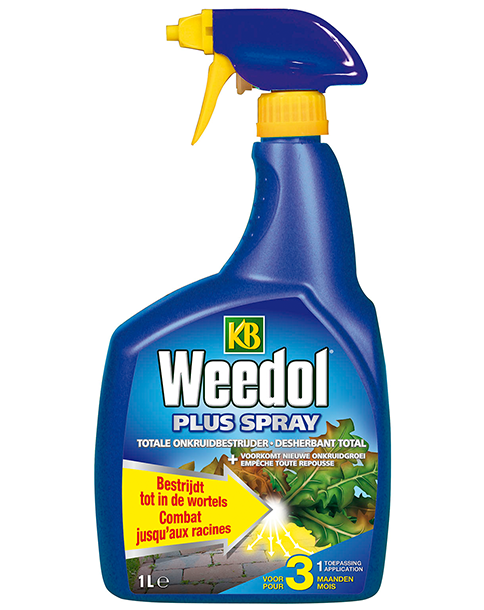 KB Weedol Plus spray onkruidverdelger 1L
