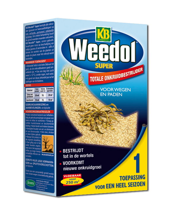 Kb Weedol Super totale onkruidbestrijder 500ml